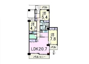 コープ野村クローバー・シティ与野四番館1502ムゲン新宿