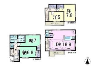 中央区新中里4一建設成増②
