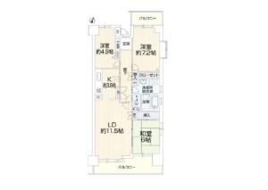 浦和西パーク・ホームズ702リプライス (2)