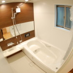川岸 浴室