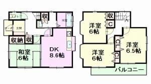 前川町 間取図