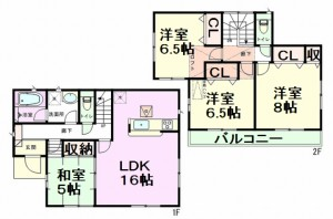 東本郷 間取図