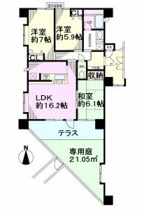 グリーンミユキ川口江戸 間取図