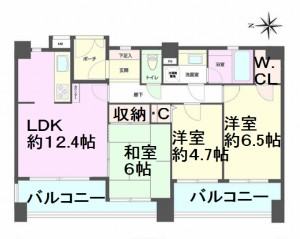 デュオ川口青木公園 間取図