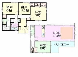 元郷 間取図