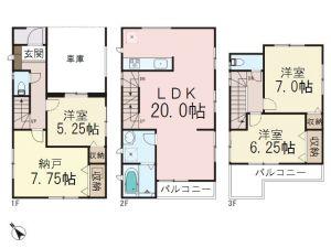 0159590_和光市下新倉2丁目_1号棟_間取図