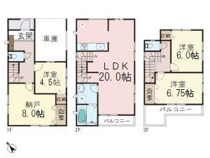 0159592_和光市下新倉2丁目_2号棟_間取図