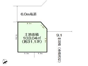 0171060_新座市野火止6丁目_2号区_区画図