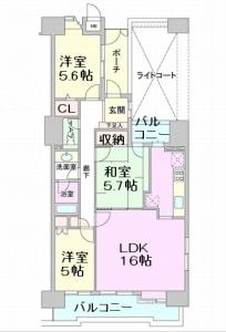 グレースコート戸田公園 間取図